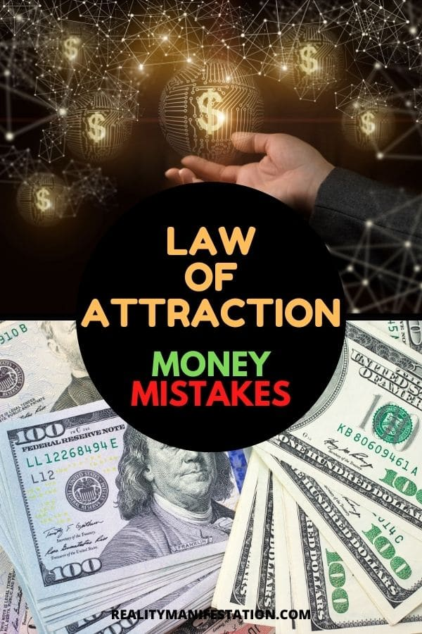 Law of attraction money mistakes