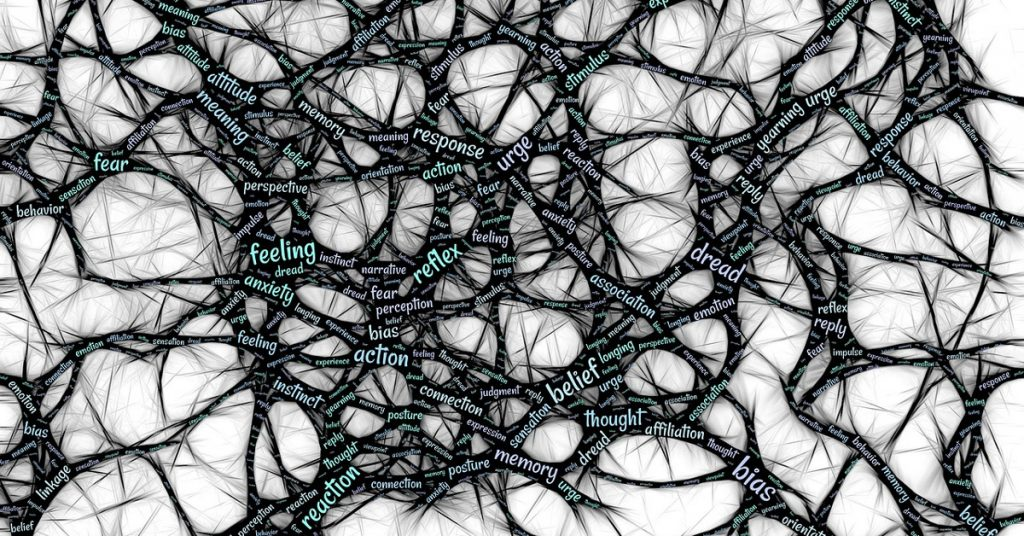 Neural networks representing the power of thoughts