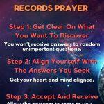 3 step akashic record prayer instructions