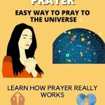 Easy way to prayer to the universe for manifestation pin