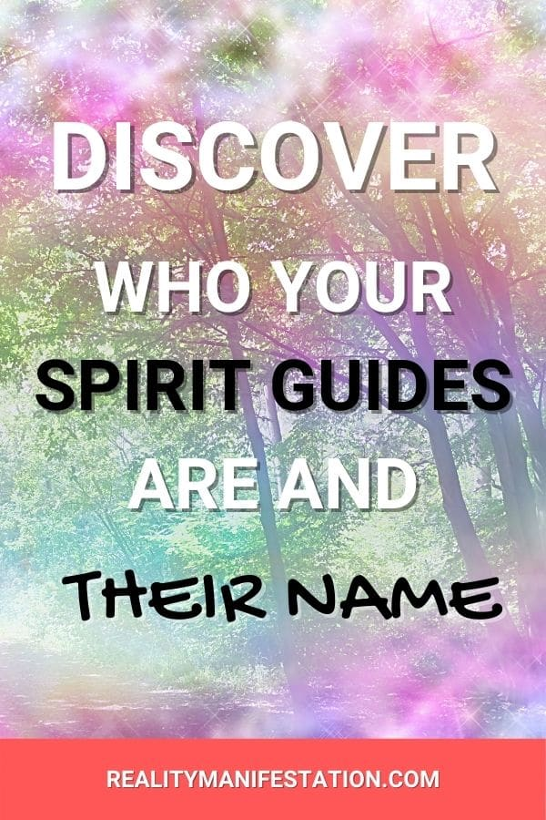 who is my spirit guide and what's their name pin