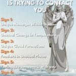 7 signs and messages your guardian angel is trying to contact you list pin