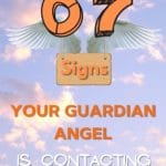 7 signs your guardian angel is contacting you pin
