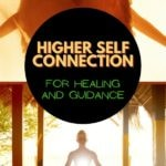 higher self connection for healing and guidance pin